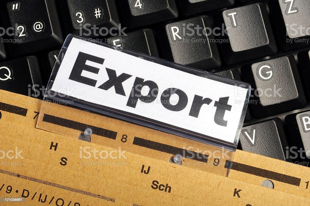 export stock photo