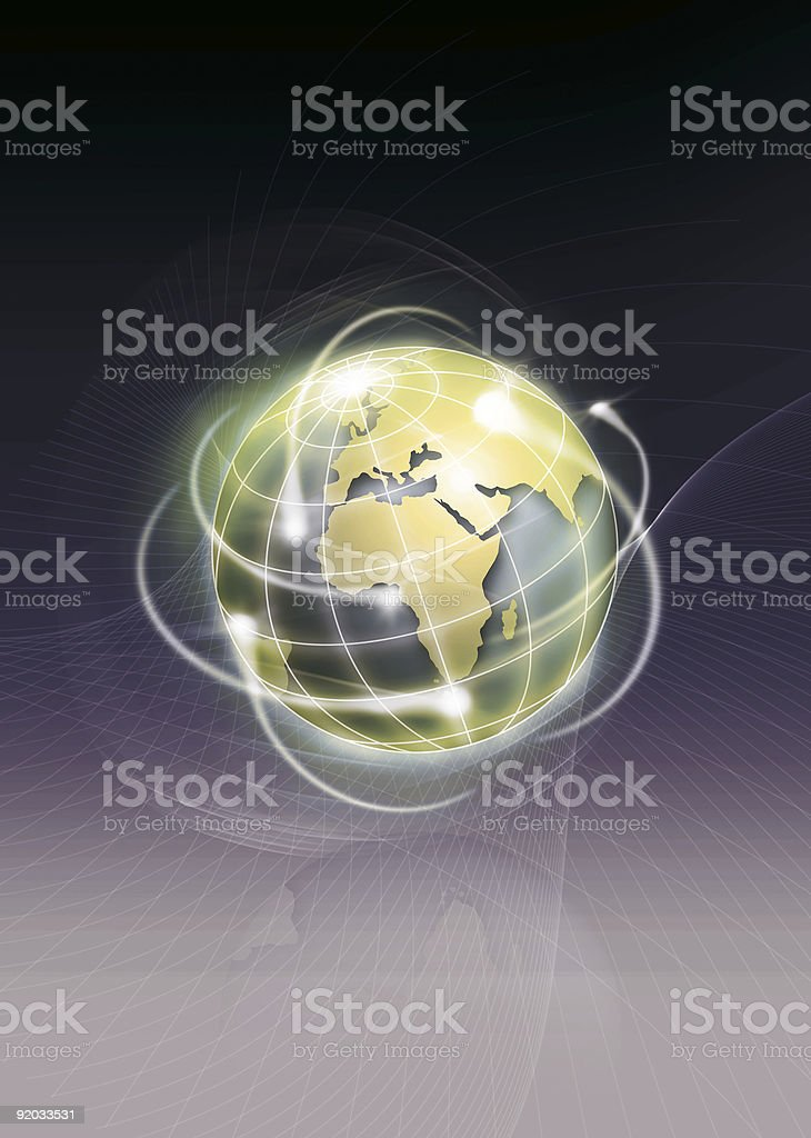 Export world royalty-free stock photo