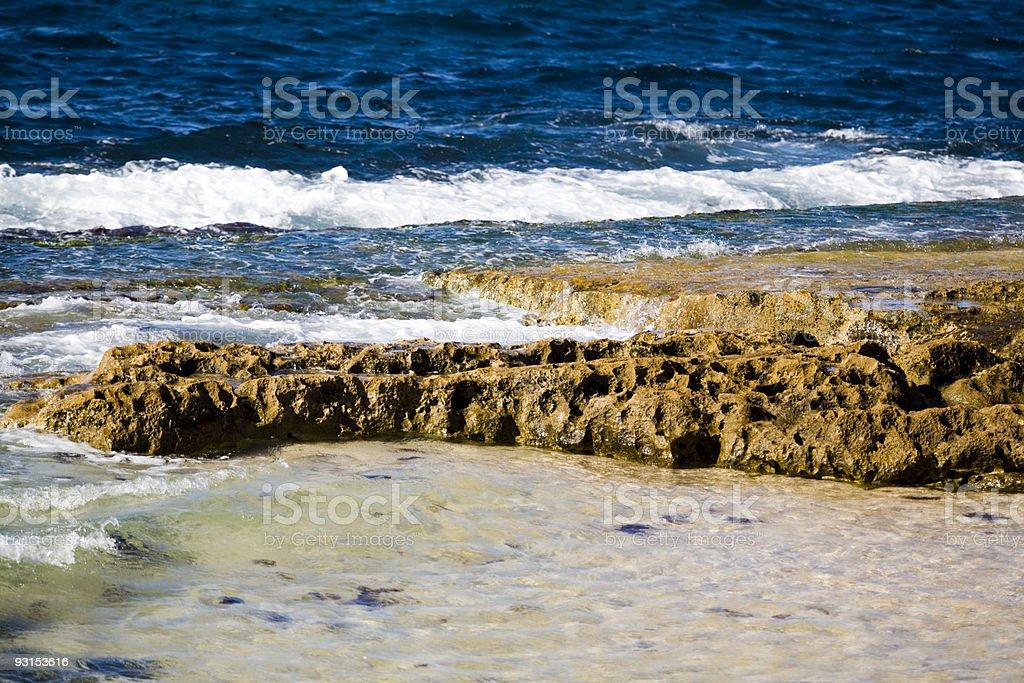 Exposed Reef stock photo