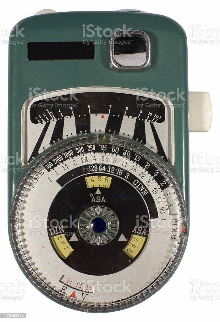 Exposure Meter royalty-free stock photo