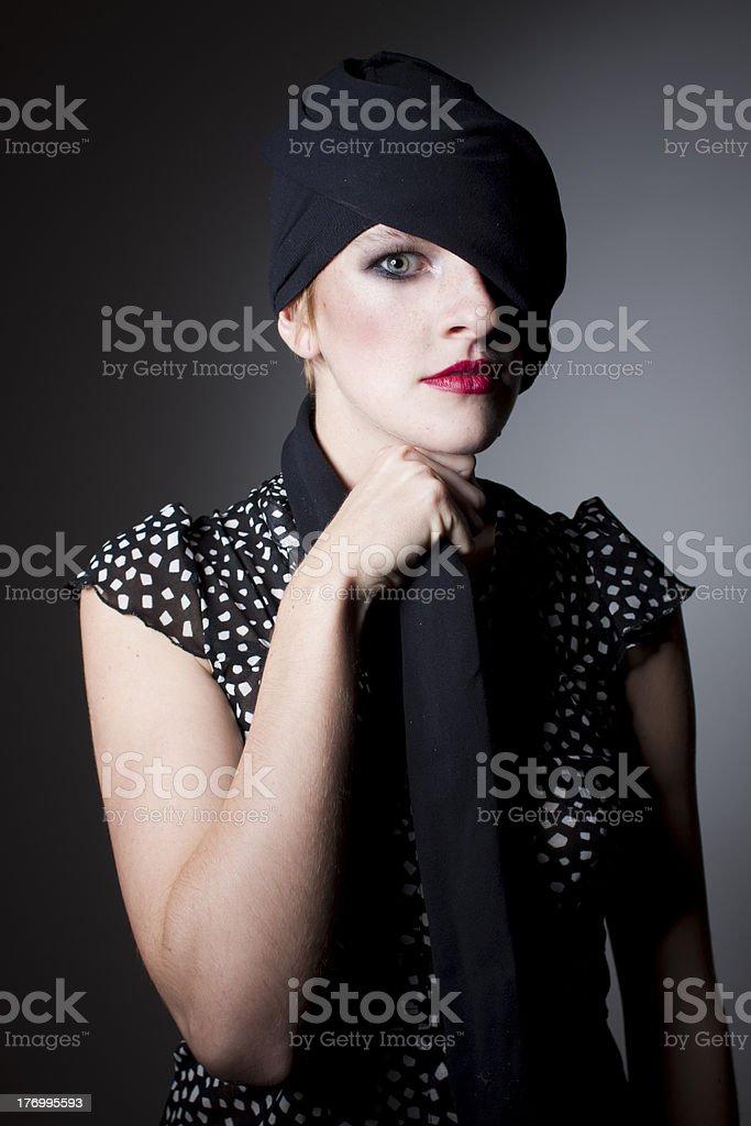 Expresive eye stock photo