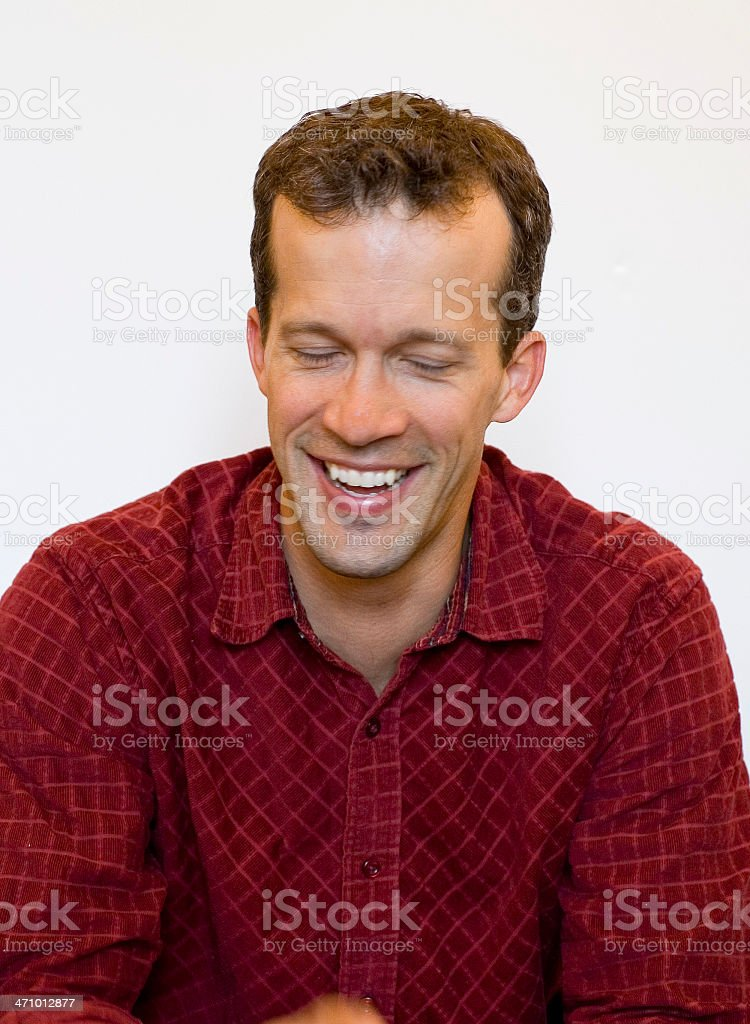 Expresive man royalty-free stock photo