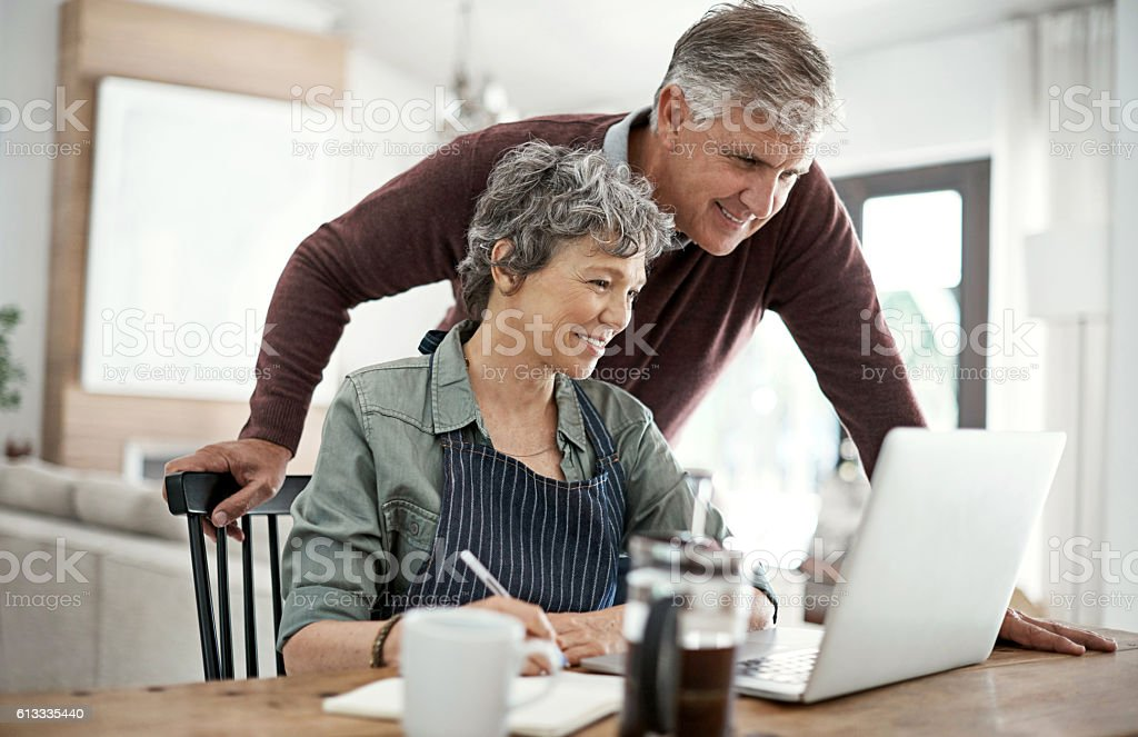 Express interest in what your partner is thinking and doing stock photo