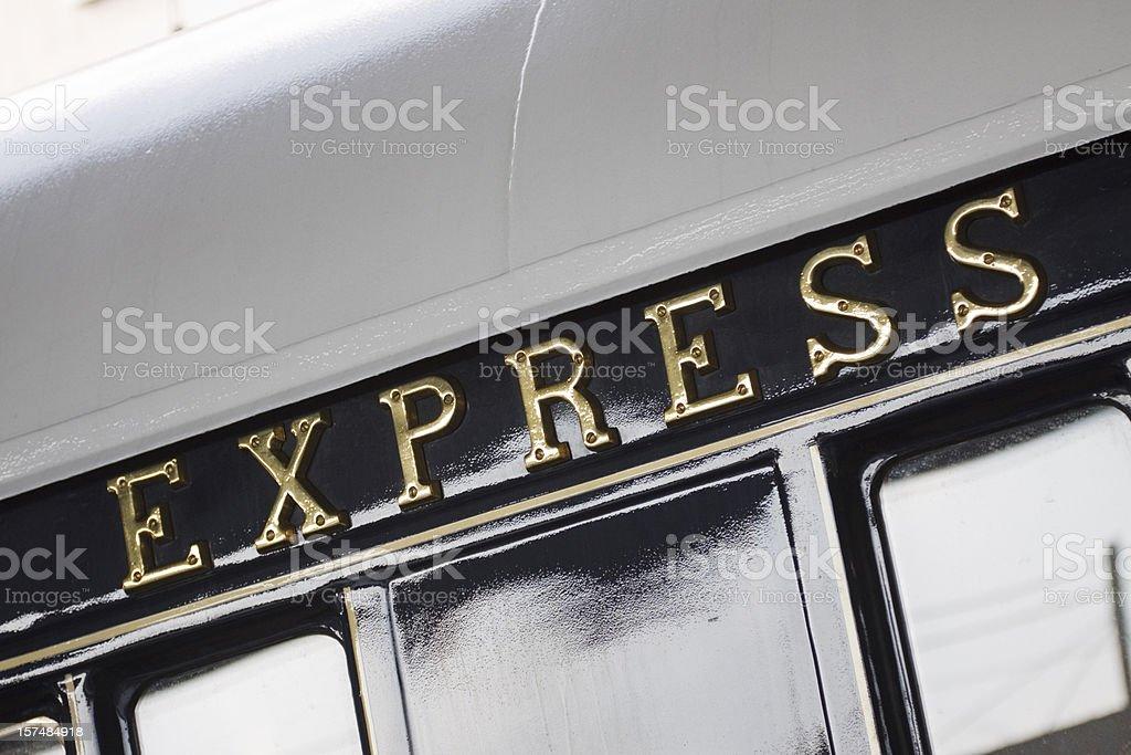 Express stock photo
