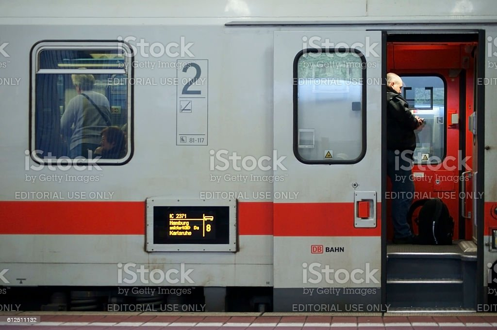 IC Express Side view stock photo