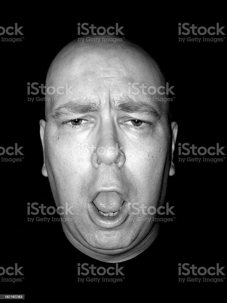 Expression: Dismay stock photo