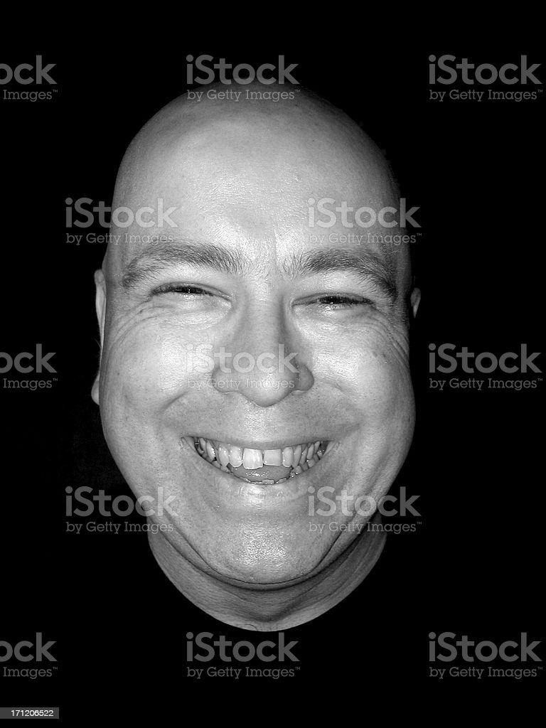 Expression: Happy royalty-free stock photo
