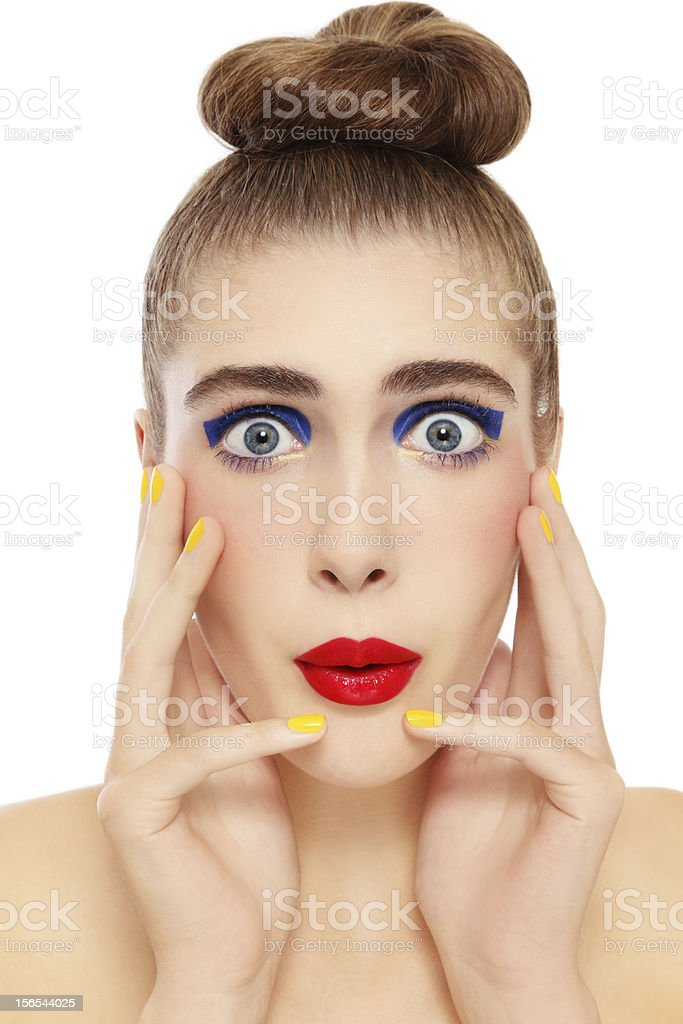 Expression royalty-free stock photo