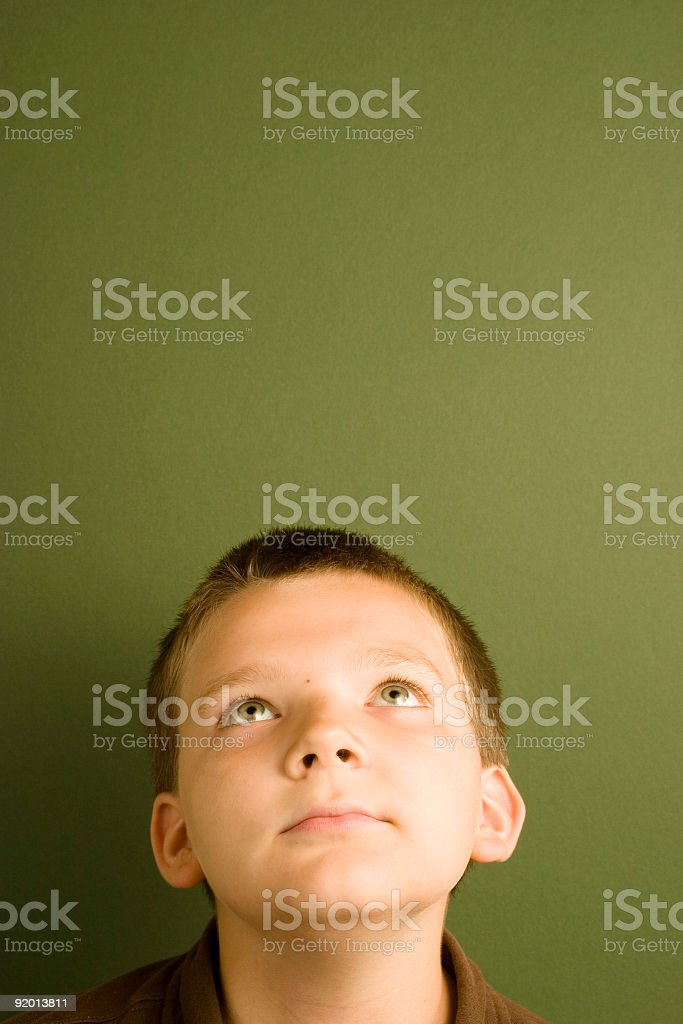 Expression Series - Stare royalty-free stock photo