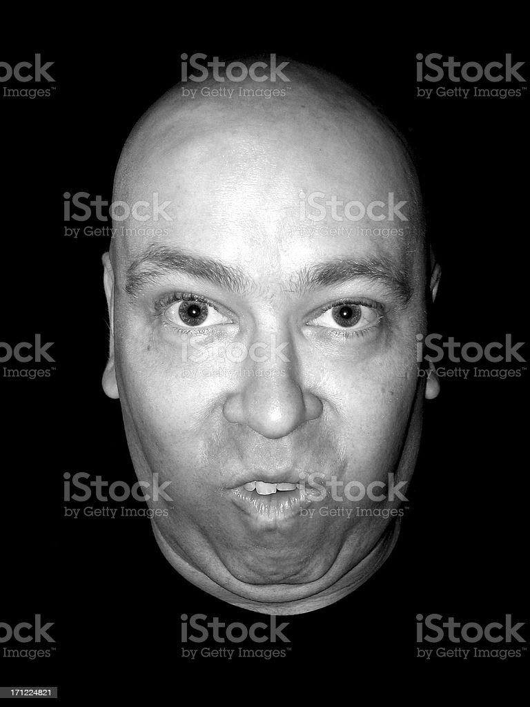 Expression: Yokel stock photo