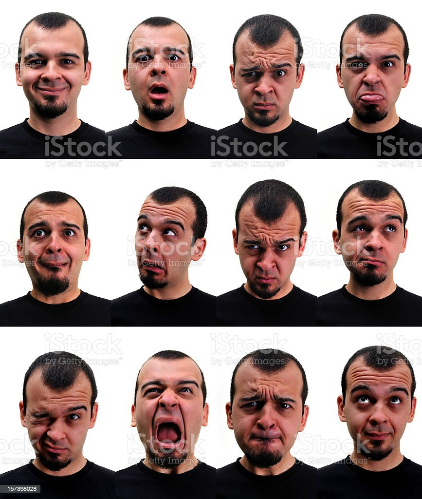 expressiones royalty-free stock photo