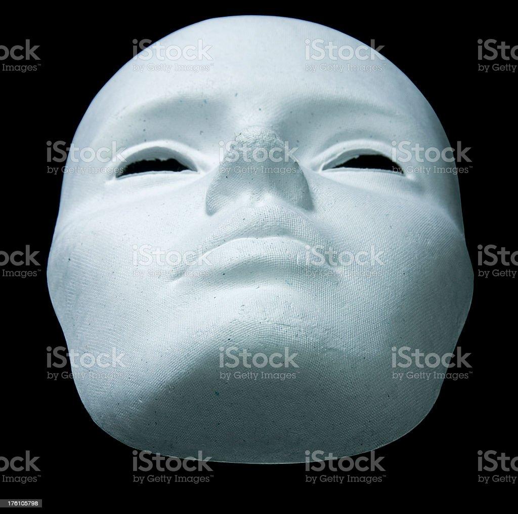 Expressionless Mask stock photo