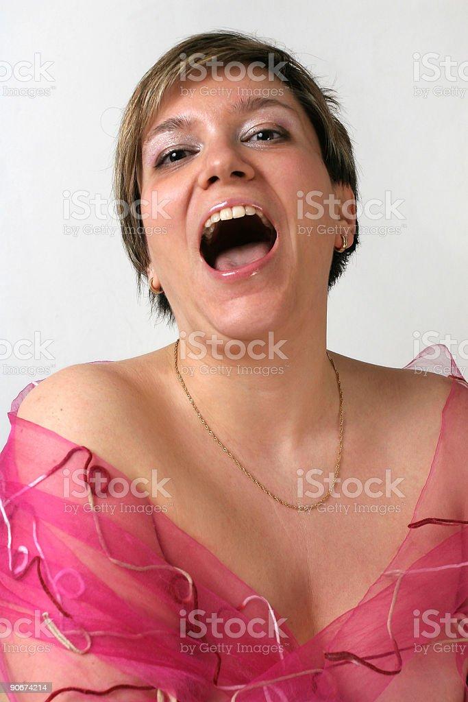 Expressions - Ha! royalty-free stock photo