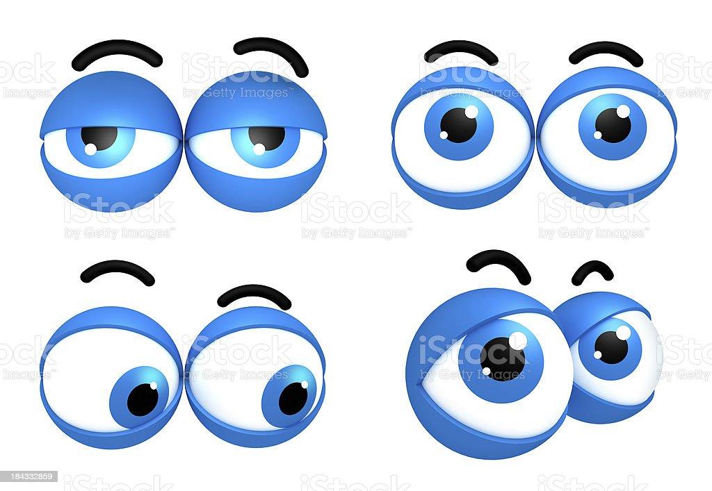 Expressive eyes stock photo