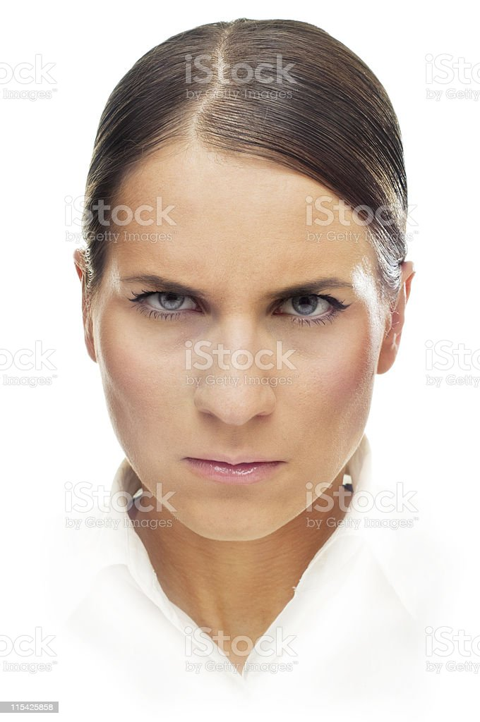expressive face royalty-free stock photo