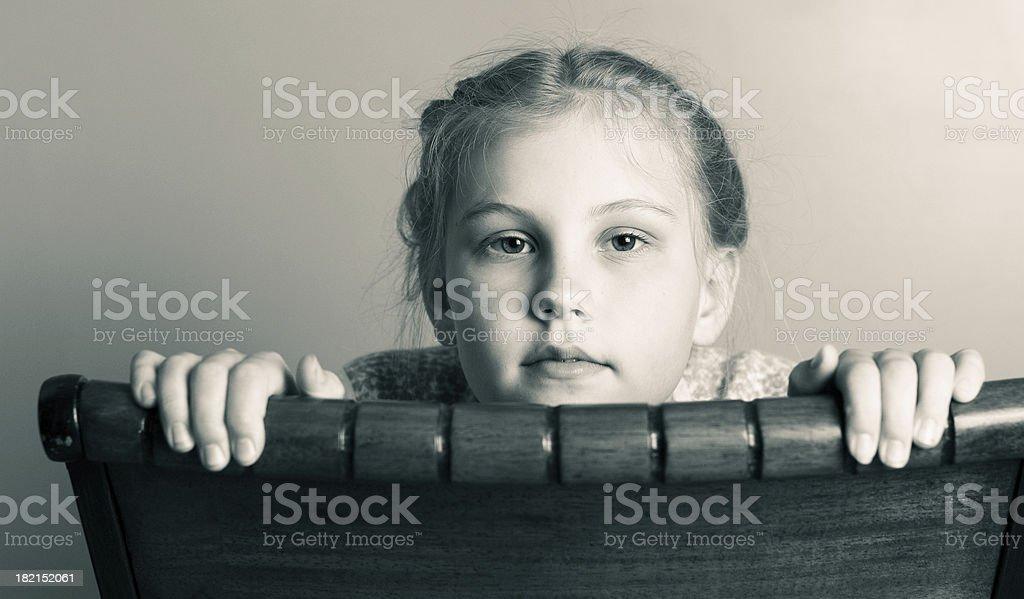 Expressive Portrait royalty-free stock photo