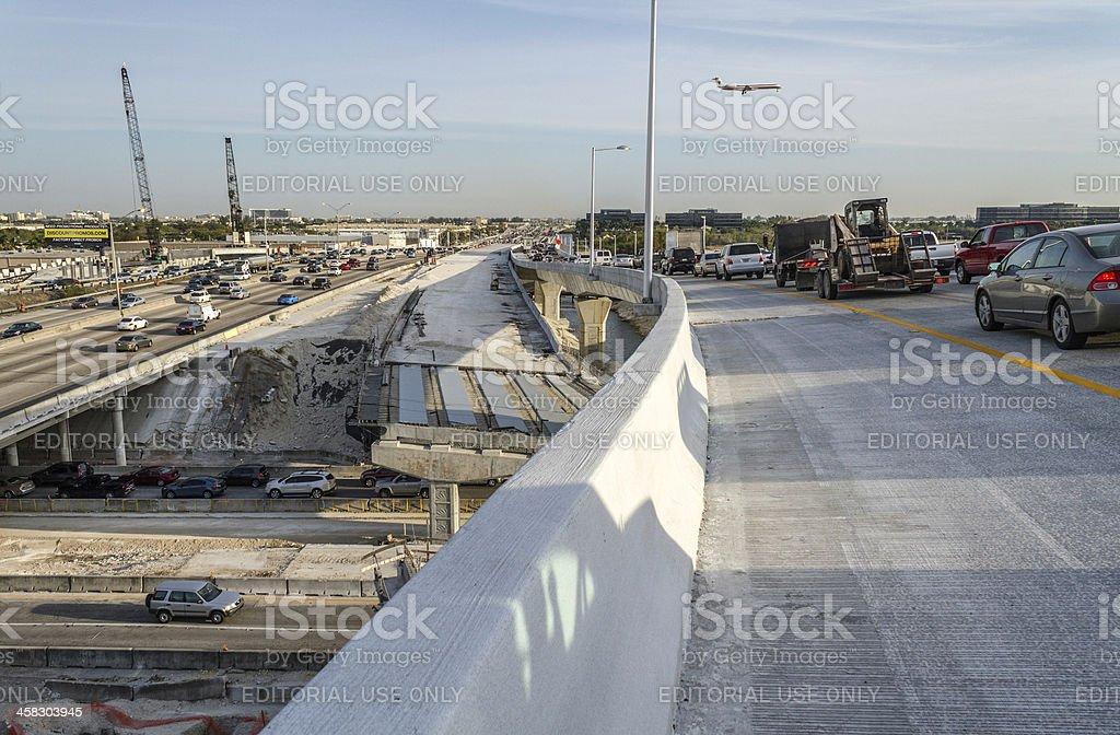 Expressway under construction II royalty-free stock photo