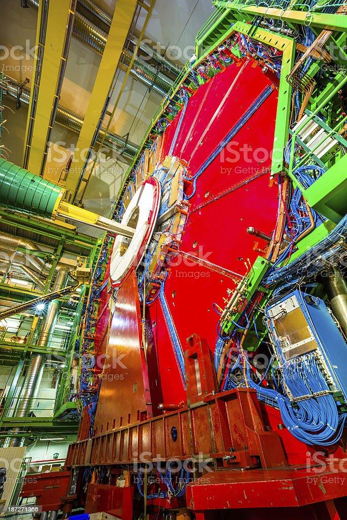 CMS Expriment Detector stock photo