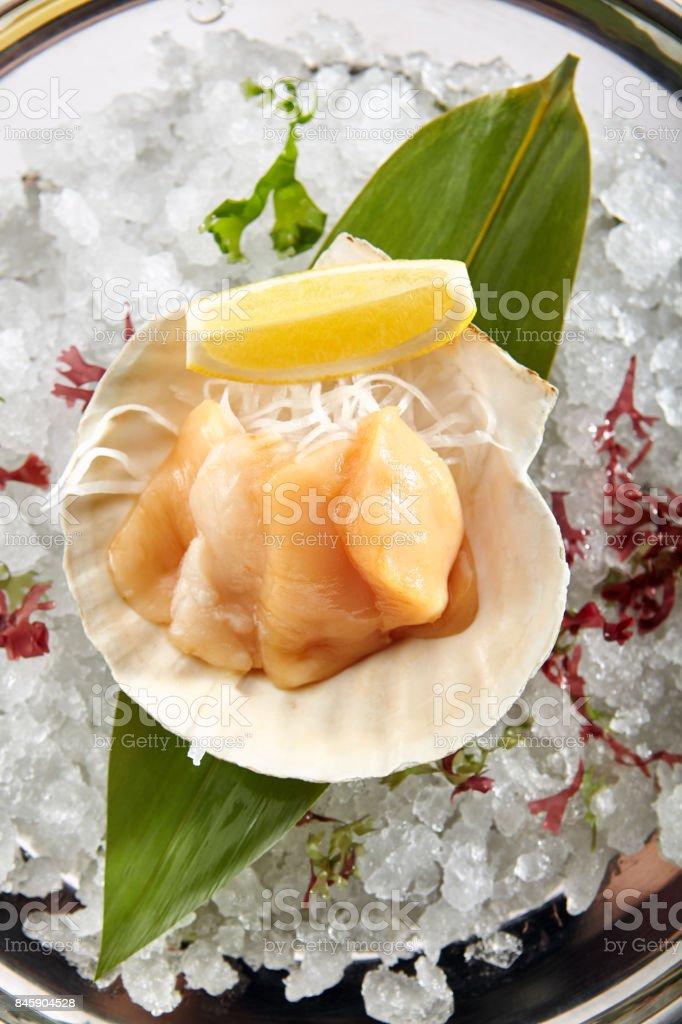 Exquisite Asian menu in the restaurant stock photo