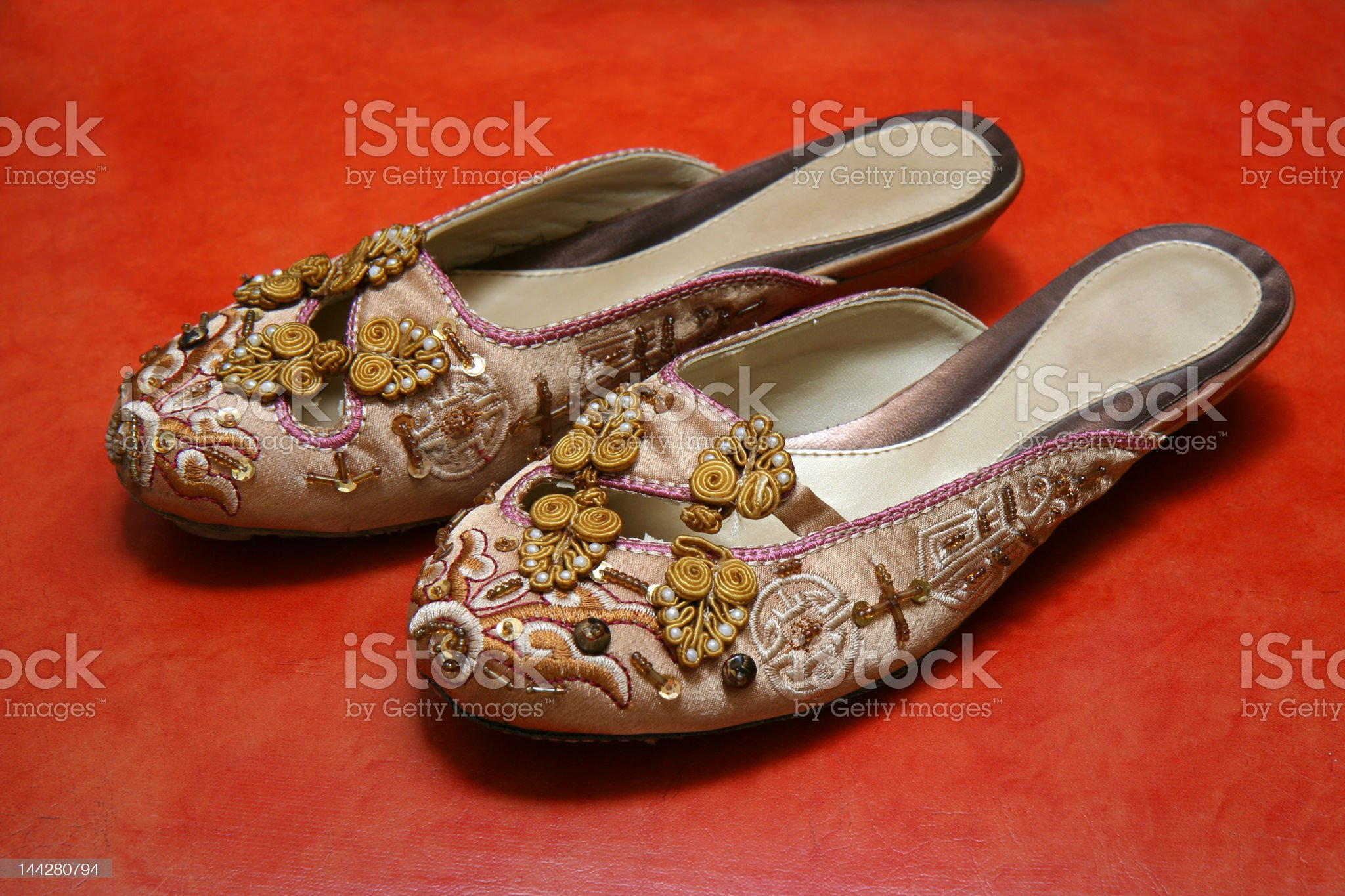 Exquisite Ladies Shoes royalty-free stock photo