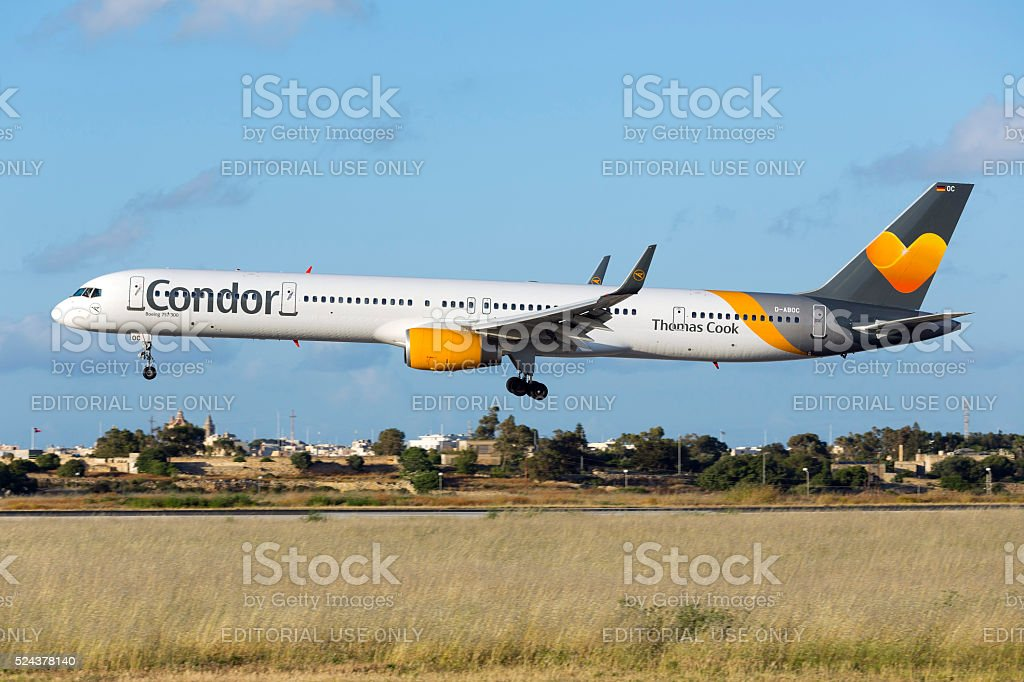 Extended 300 version of the Boeing 757 stock photo
