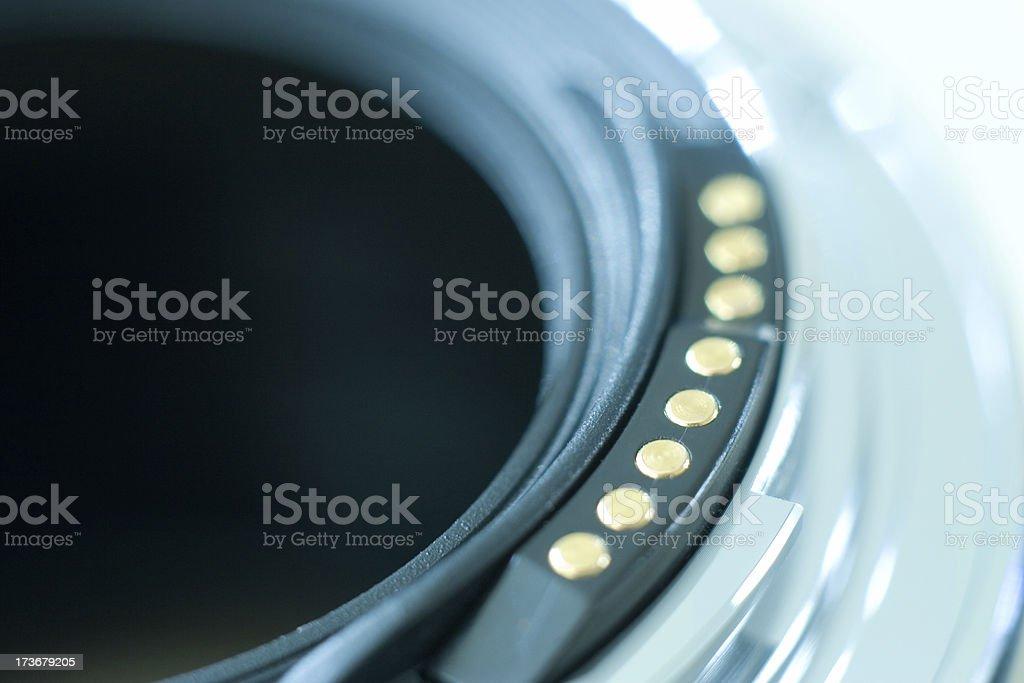 Extension tube royalty-free stock photo