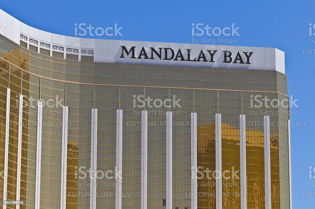 Exterior and Signage of the Mandalay Bay Hotel I stock photo