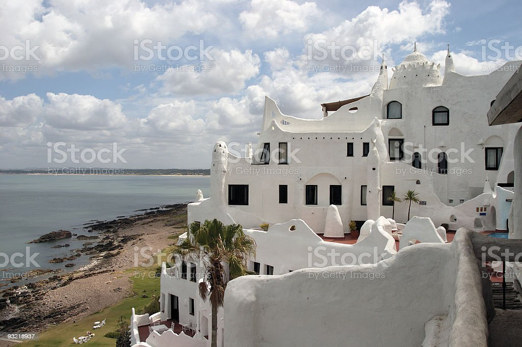 Exterior: Casapueblo stock photo