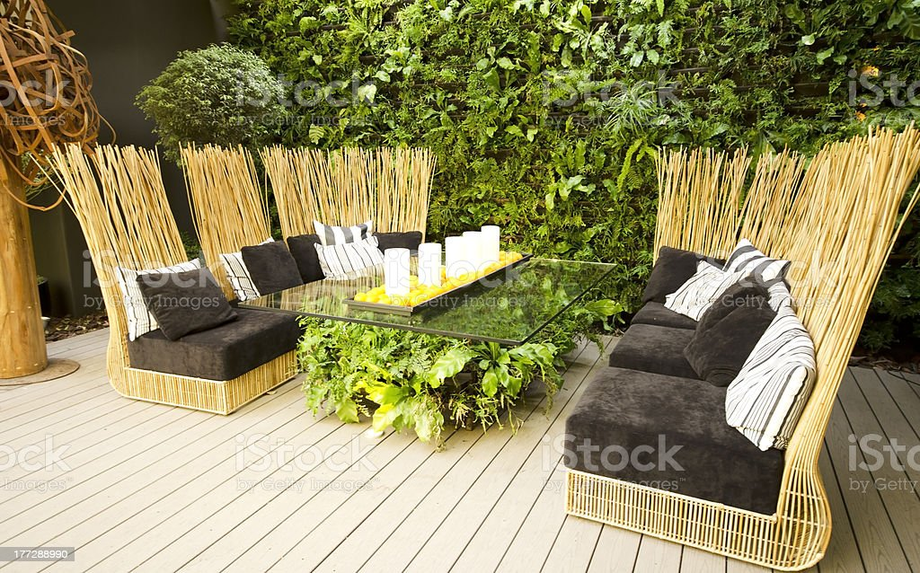 Exterior Furniture royalty-free stock photo