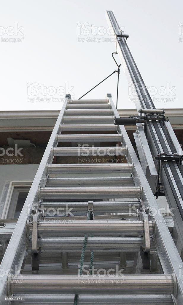 Exterior House escada foto royalty-free