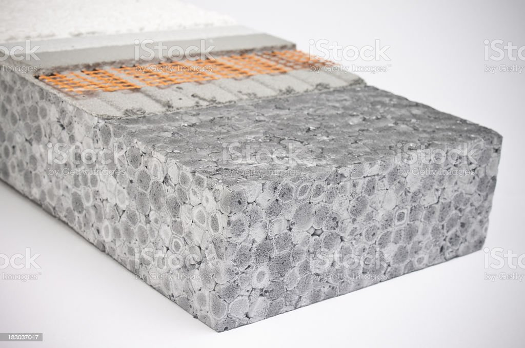 Exterior Insulation stock photo