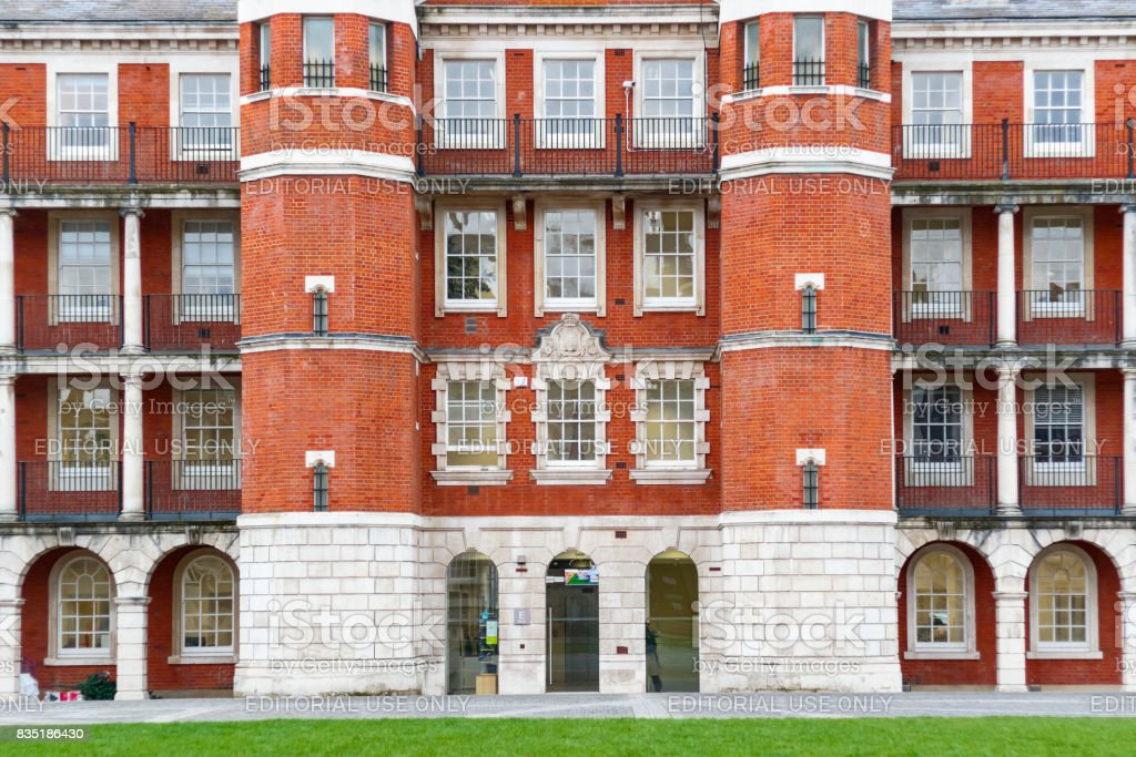 Exterior of Chelsea College of Arts, part of the University of the Arts in London stock photo