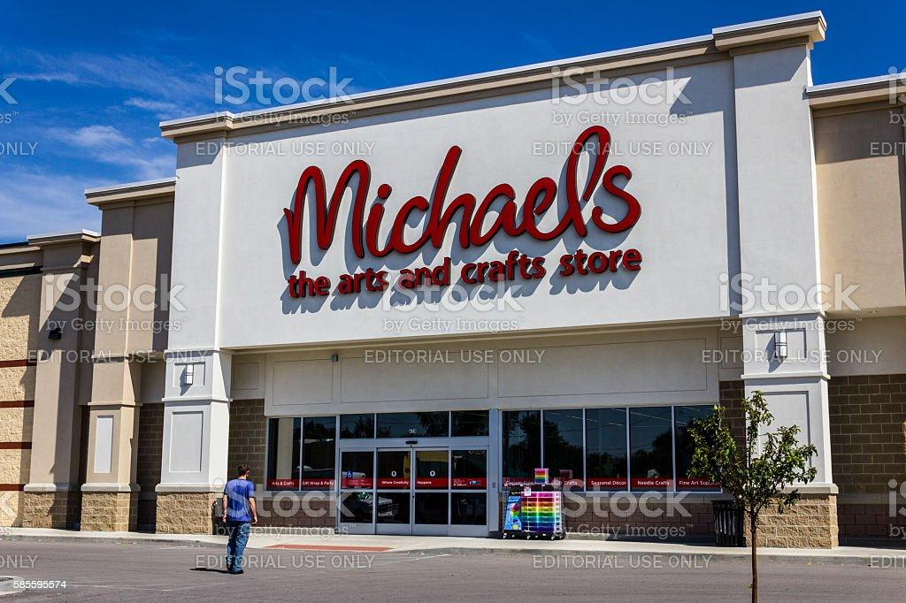 Exterior of Michael's Craft Store II photo libre de droits