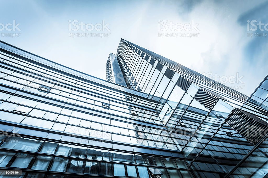 exterior of modern building royalty-free stock photo
