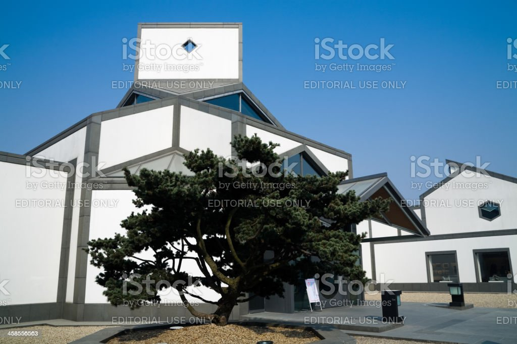 Exterior of Suzhou Museum stock photo