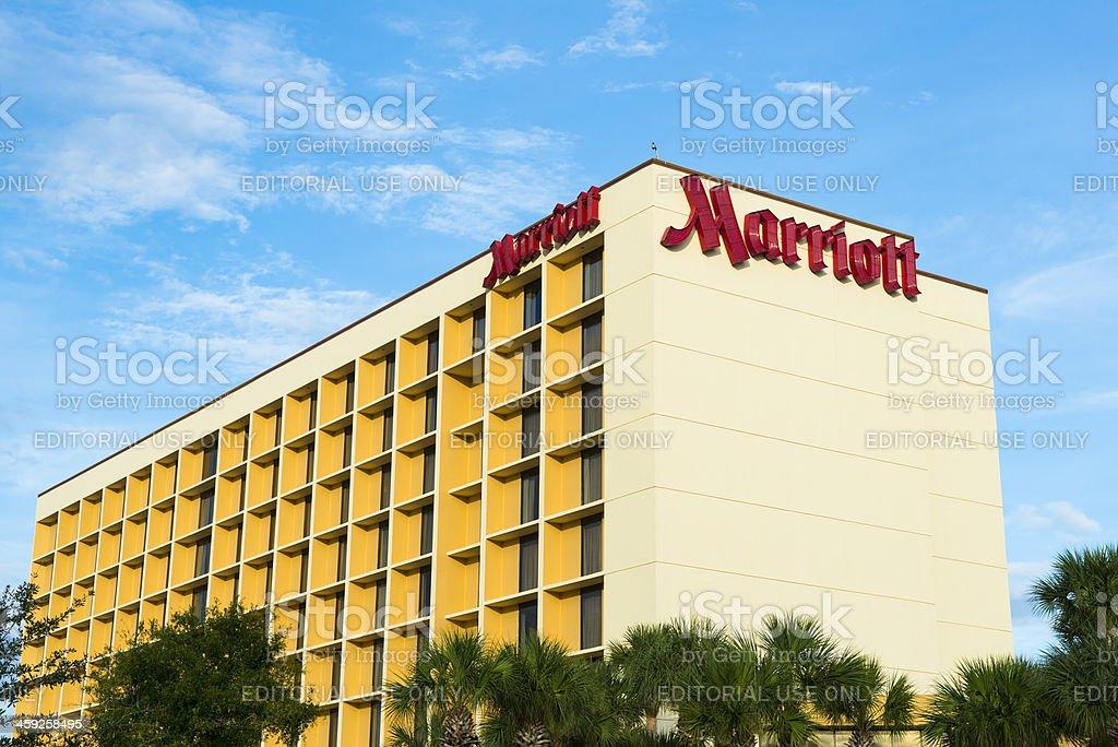 Marriott Hotel royalty-free stock photo