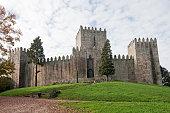 Exterior walls of the Castle de Guimare