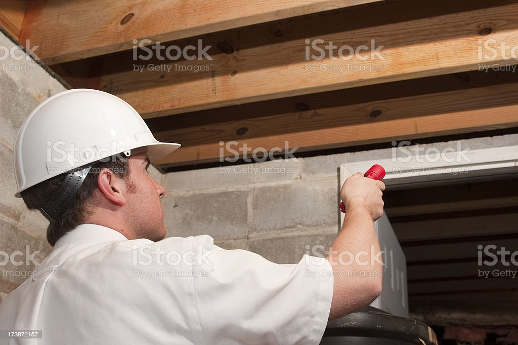 Exterminator royalty-free stock photo
