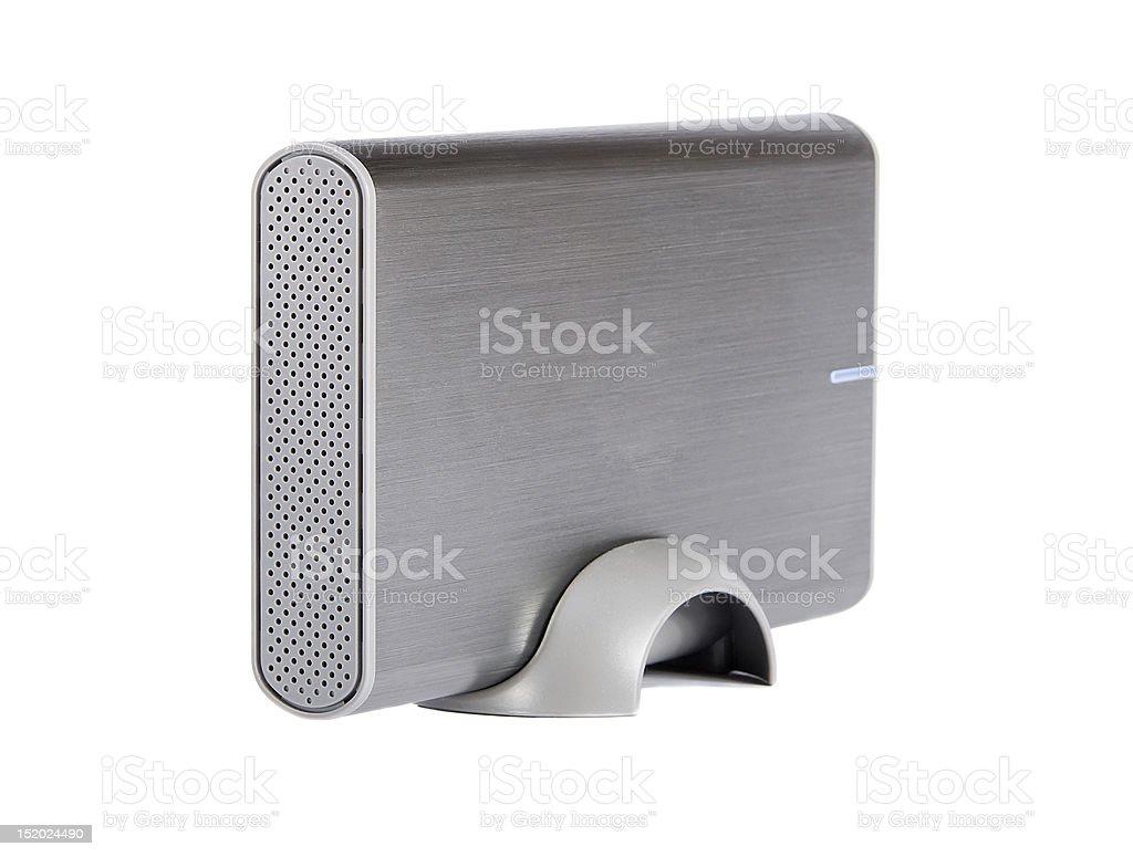 external hard disk stock photo