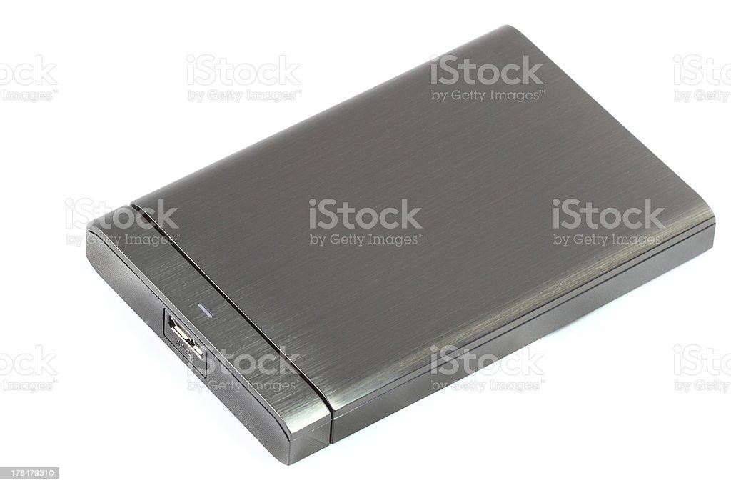 External hard disk royalty-free stock photo