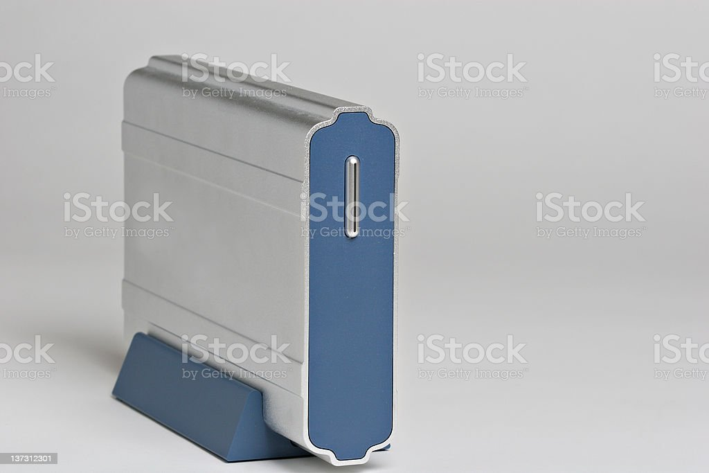 External hard Drive royalty-free stock photo