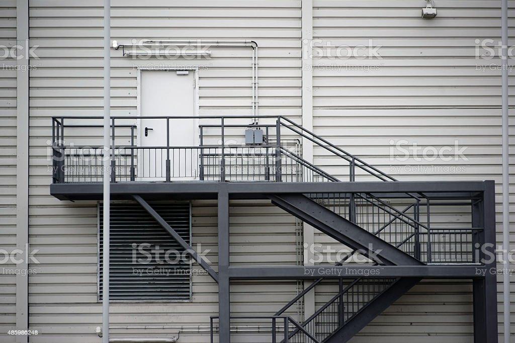 External staircase stock photo