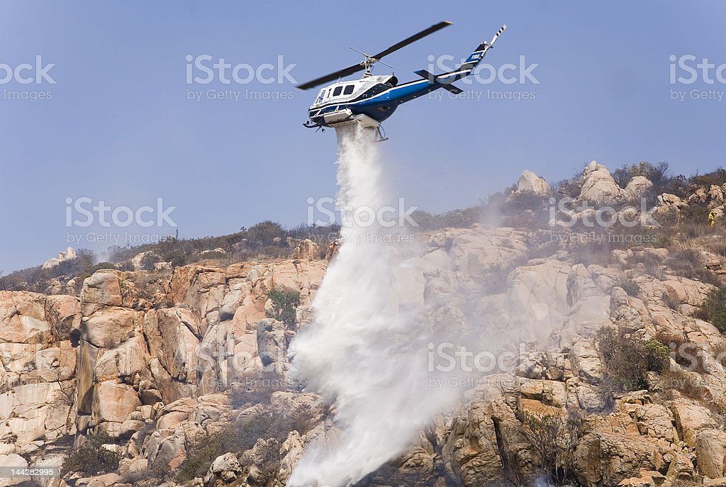 extinguish the fire royalty-free stock photo
