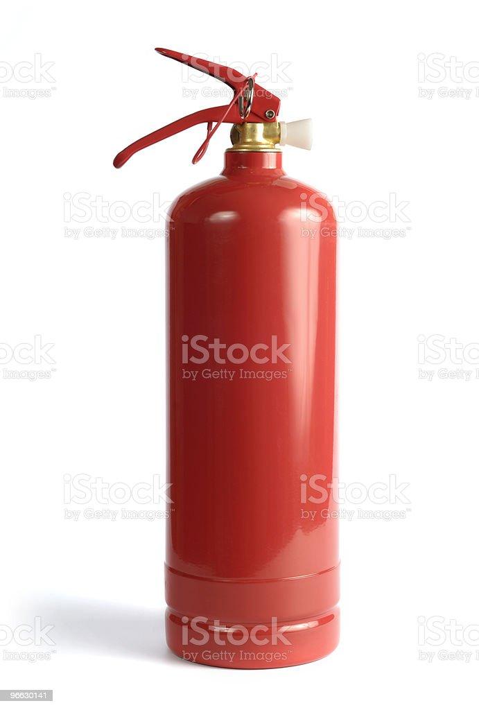 Extinguisher stock photo