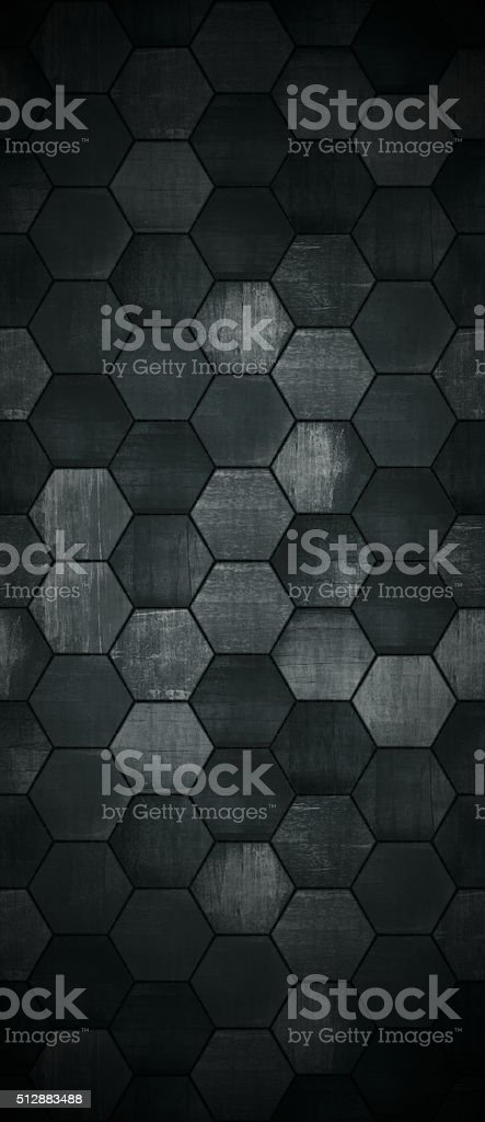 Extra Dark Tall Tiled Background stock photo