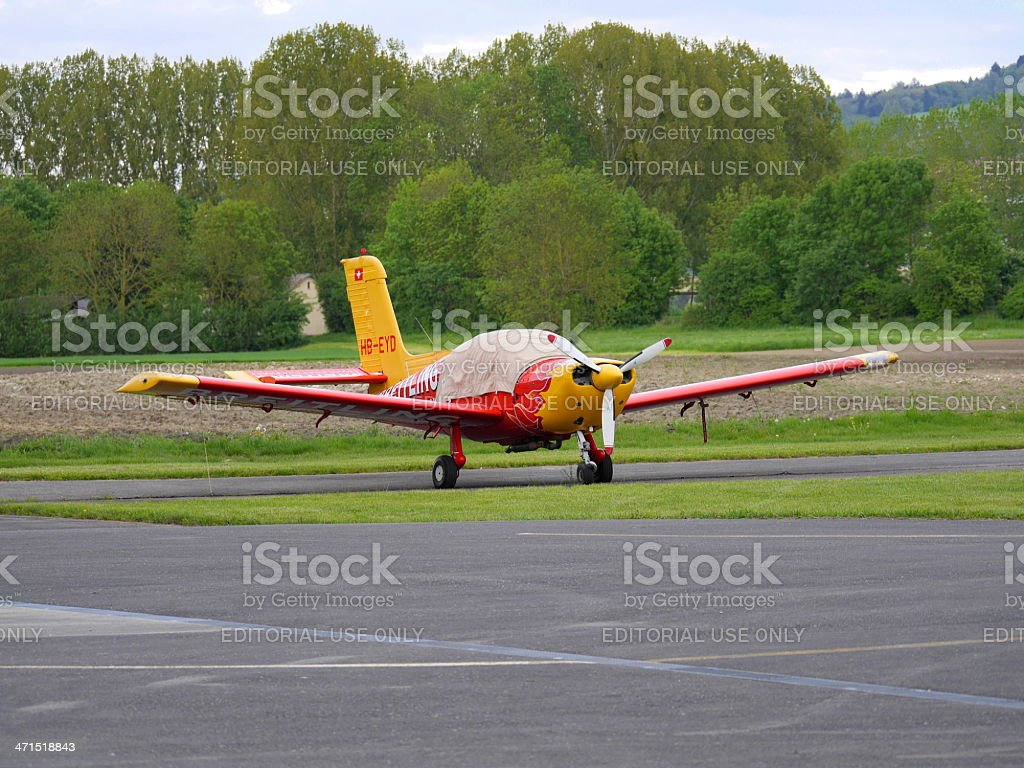 Extra EA-200 with Breitling livery stock photo