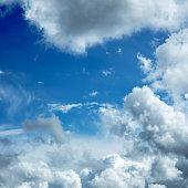 Extra large image of beautiful dramatic sky