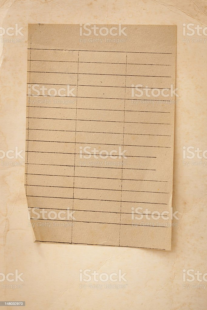 Extra large Old grunge paper for background royalty-free stock photo