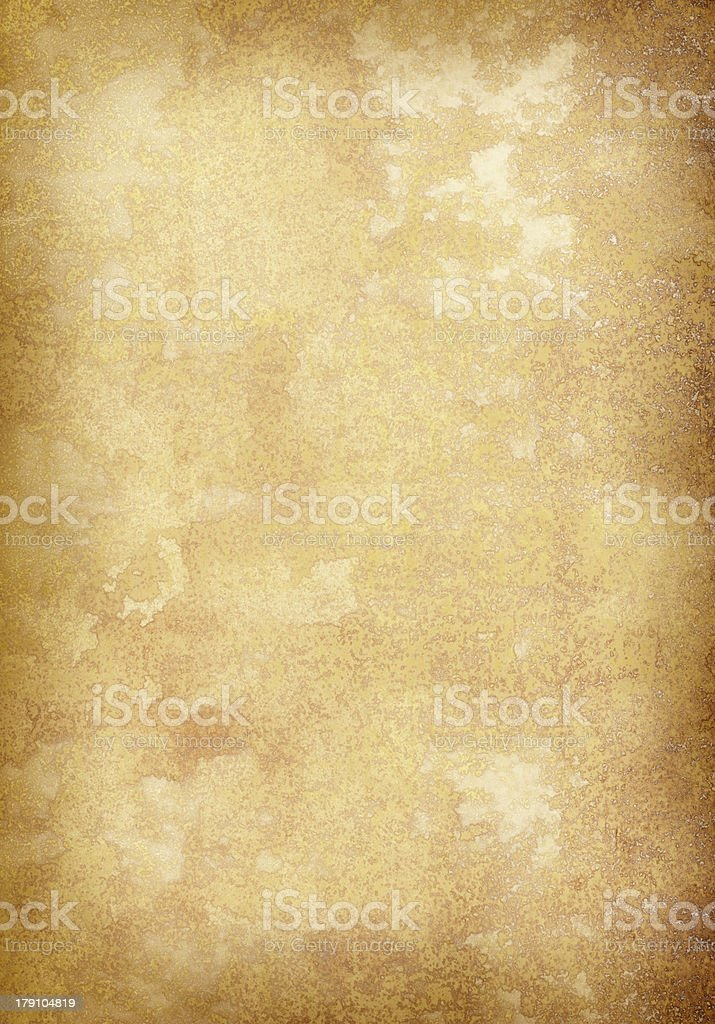 Extra Large Old Vellum Parchment Paper stock photo