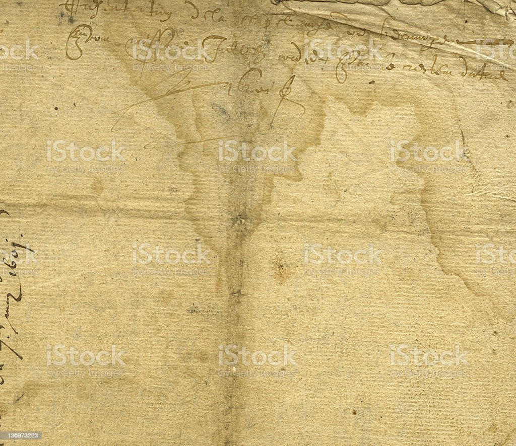 extra large vintage paper royalty-free stock photo